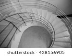 curve step down background ... | Shutterstock . vector #428156905
