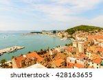 split  croatia   aug 22  2014 ... | Shutterstock . vector #428163655