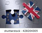 brexit concept | Shutterstock . vector #428204305