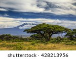 Beautiful African Landscape On...