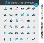 business icon pack | Shutterstock .eps vector #428218456