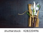 Rustic Set Of Cutlery Knife ...