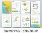big set of infographic vector... | Shutterstock .eps vector #428220832