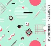 geometric seamless pattern....   Shutterstock .eps vector #428225776