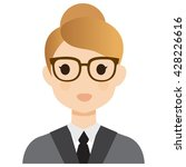 user avatar woman | Shutterstock .eps vector #428226616
