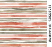 watercolor striped seamless... | Shutterstock . vector #428239258
