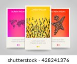 modern colorful vertical people ... | Shutterstock .eps vector #428241376