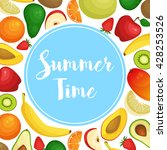 vector frame background card... | Shutterstock .eps vector #428253526