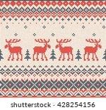 illustration scandinavian or... | Shutterstock . vector #428254156
