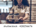best coffee to go  part of... | Shutterstock . vector #428256676