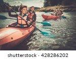 happy best friends having fun... | Shutterstock . vector #428286202