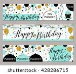 happy birthday felicitation...   Shutterstock .eps vector #428286715
