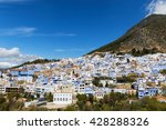 view of the town of chefchaouen ... | Shutterstock . vector #428288326