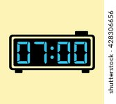digital clock alarm electronic
