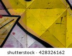 beautiful street art of... | Shutterstock . vector #428326162