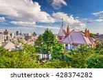 kobe  japan skyline from the... | Shutterstock . vector #428374282