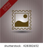 picture icon vector symbol flat ... | Shutterstock .eps vector #428382652