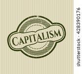 capitalism rubber stamp | Shutterstock .eps vector #428390176