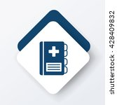 medical file icon   Shutterstock .eps vector #428409832