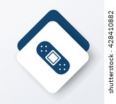 bandage icon | Shutterstock .eps vector #428410882