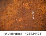 old metal iron rust texture | Shutterstock . vector #428424475