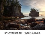 Beautiful Rock Formations On A...