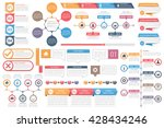 infographic elements   objects... | Shutterstock .eps vector #428434246