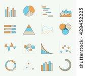 infographics elements. vector... | Shutterstock .eps vector #428452225