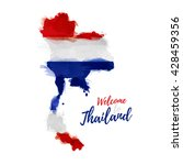 symbol  poster  banner thailand.... | Shutterstock .eps vector #428459356