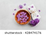 spa and  wellness composition... | Shutterstock . vector #428474176