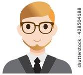 user avatar teacher   Shutterstock .eps vector #428504188