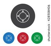 joystick icon jpg | Shutterstock .eps vector #428508406