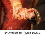close up of indian couple's... | Shutterstock . vector #428510212