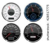 speedometer. set of speed... | Shutterstock . vector #428517775