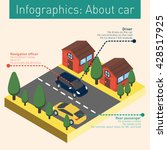 infographics  a little bit... | Shutterstock .eps vector #428517925