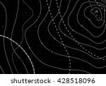 black abstract weather map....