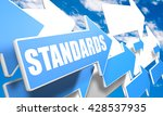 standards 3d render concept... | Shutterstock . vector #428537935