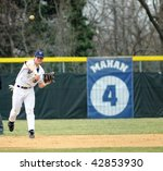 Постер, плакат: Villanova University shortstop Marlon