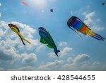 Huge Squid And Fish Kites...