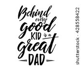 fathers day inspirational... | Shutterstock .eps vector #428558422