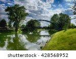 bridge on the river | Shutterstock . vector #428568952