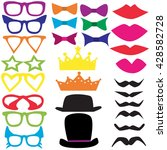 vector isolated set for a... | Shutterstock .eps vector #428582728