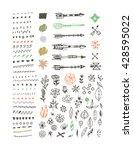big set design elements for... | Shutterstock .eps vector #428595022
