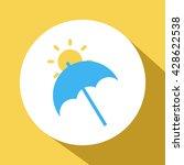 umbrella icon. umbrella sign