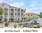 town square  shopping mall ... | Shutterstock . vector #428627806