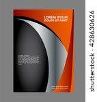 business flyer background... | Shutterstock .eps vector #428630626