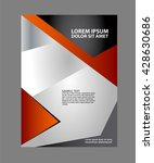 creative flyer background  | Shutterstock .eps vector #428630686
