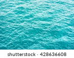 turquoise sea surface | Shutterstock . vector #428636608