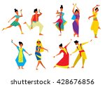 Indian Dancer Vector...