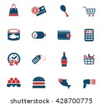 Grocery Store Web Icons For...